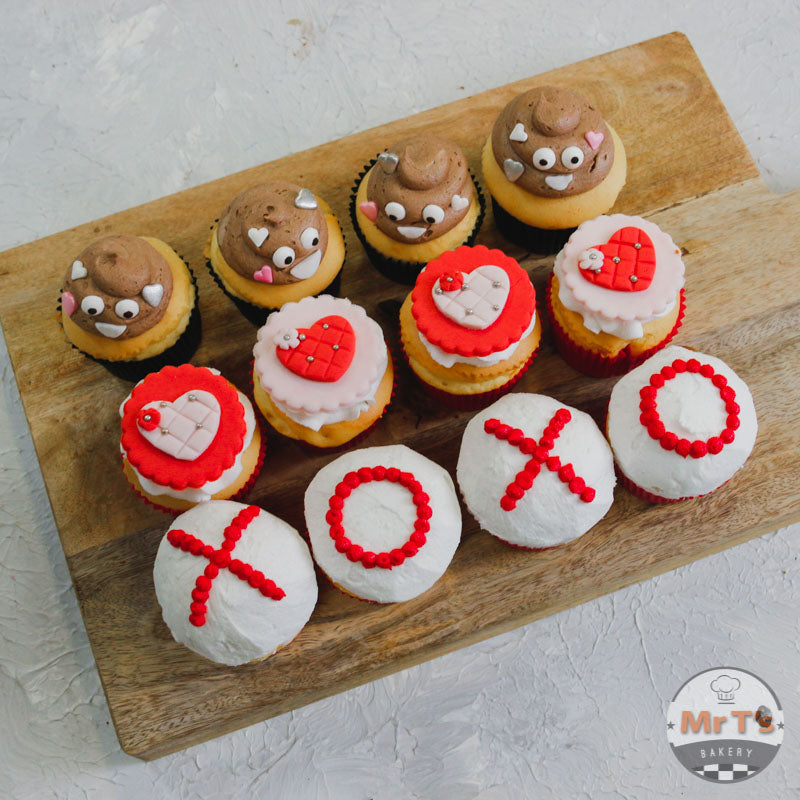 valentine cupcakes collection in Brisbane