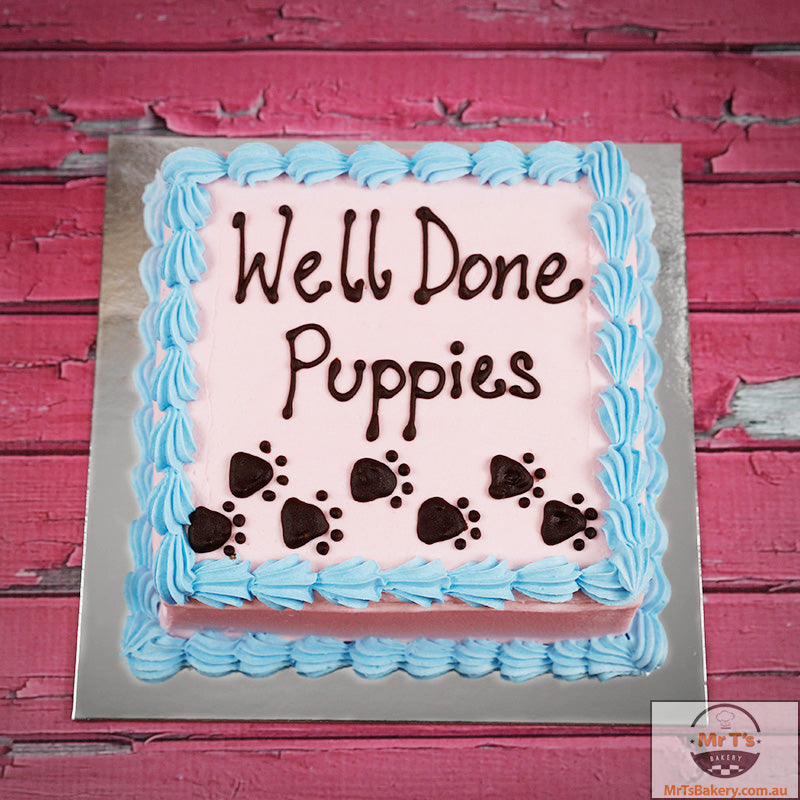 well-done-puppies-cake
