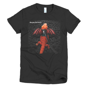 My Pet Dragon - Dragons Do Exist - Short sleeve women's t-shirt