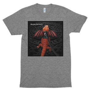 My Pet Dragon - Dragons Do Exist - Short sleeve soft t-shirt