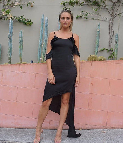 Hot Child In The City Dress - Black