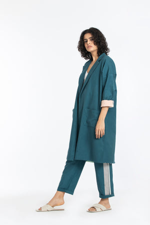 Limited edition jacket co-ord teal