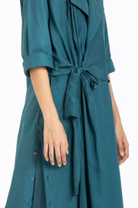 Tie jacket co-ord- teal (Set of 3)