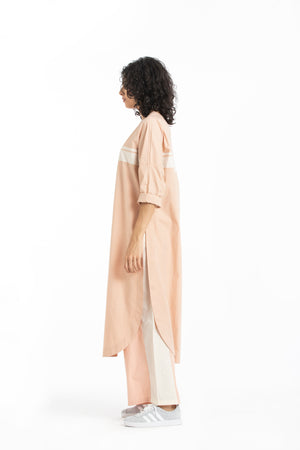 Long jumper co-ord- Pale pink