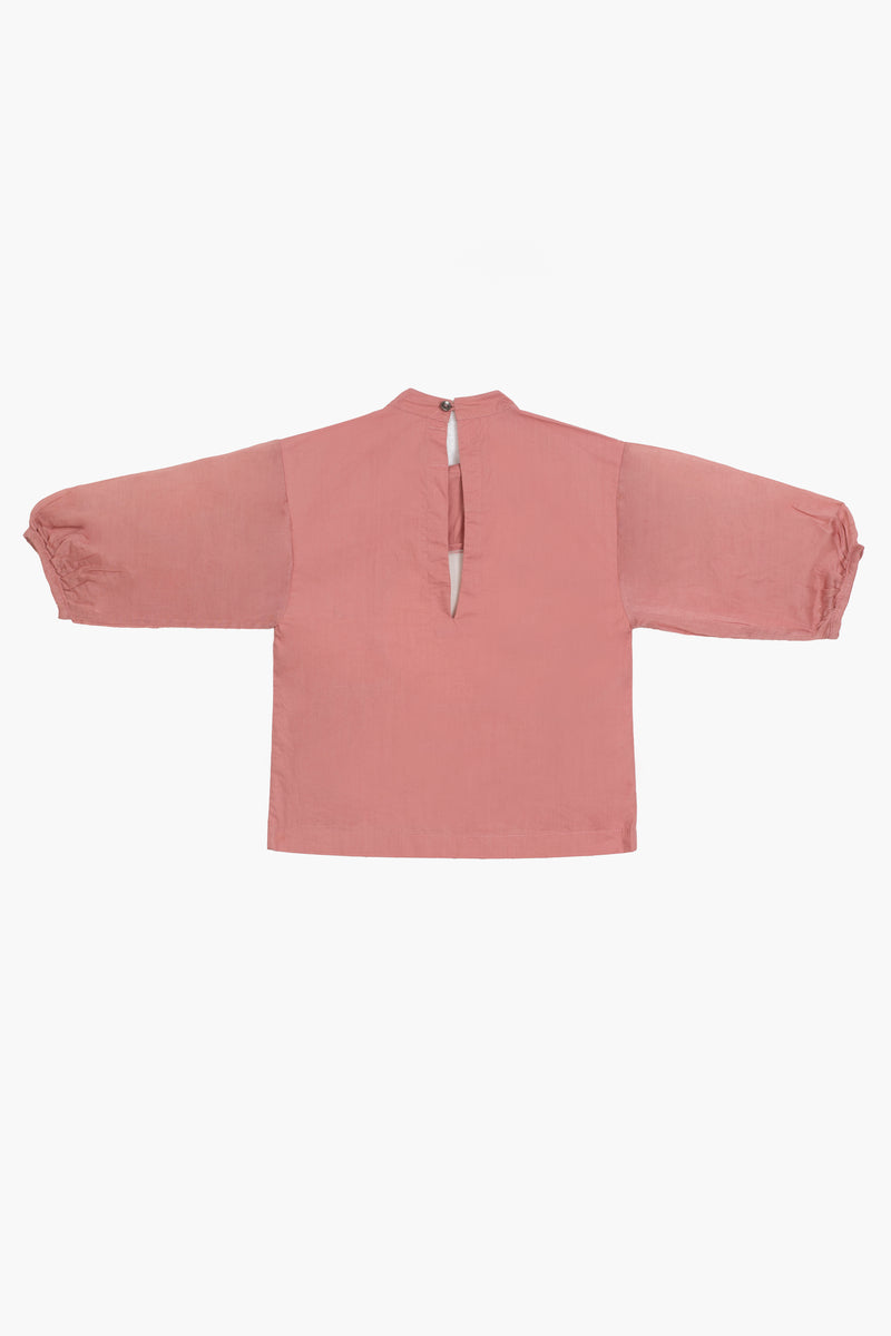 Circle Top- Dusty Rose