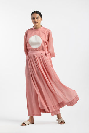 Skirt Pant- Dusty Rose
