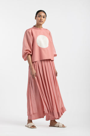 Skirt Pant Co-ord Dusty Rose