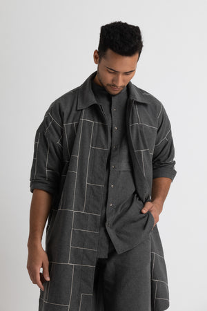 Limited Edition Jacket Co-ord- Lead grey