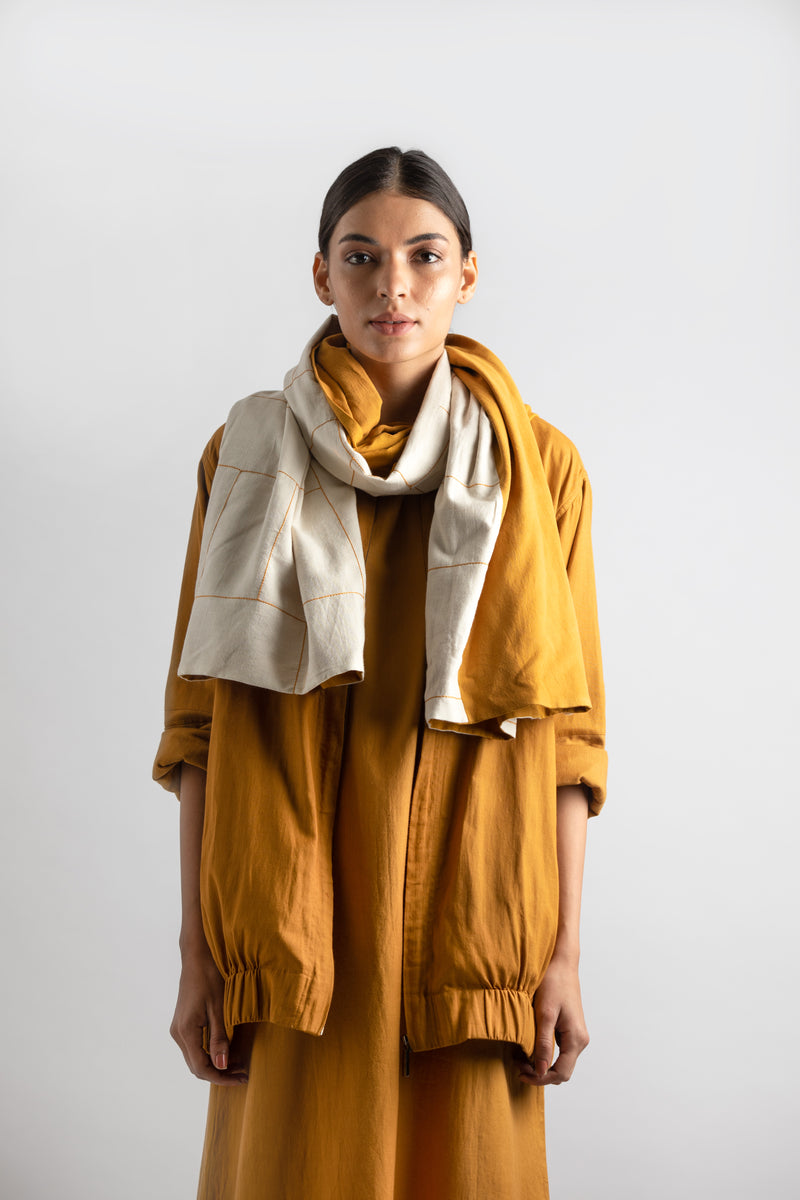 Scarf - Yellow Ivory