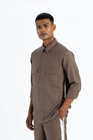 Patch Pocket Shirt- Cedar