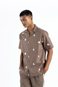 Camp Collar Shirt- Cedar