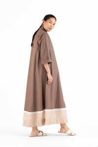Turtle Neck Dress- Cedar