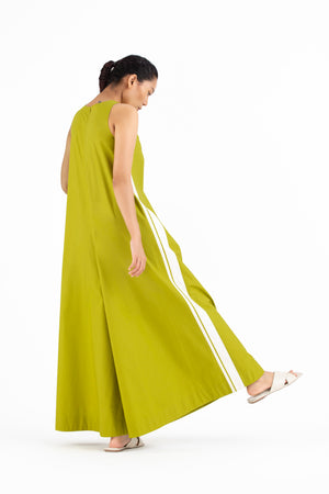 Jumpsuit- Lime