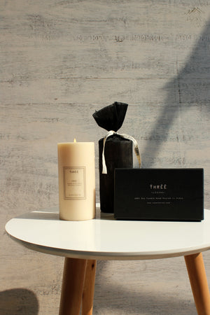 Pillar Candle- Dew (With box, shipping only in India)
