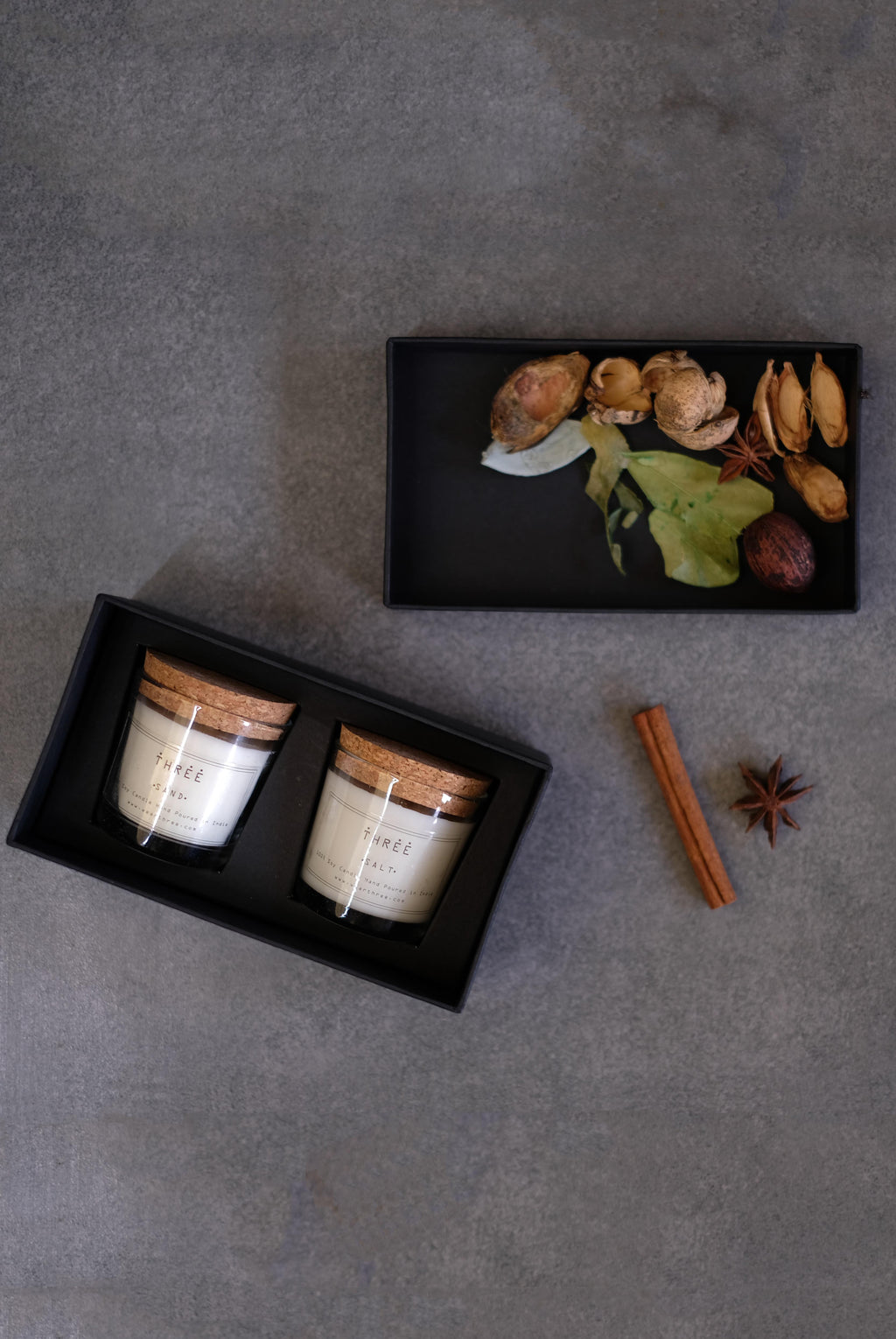 Soy Candle- Set of 2 (Shipping only in India)