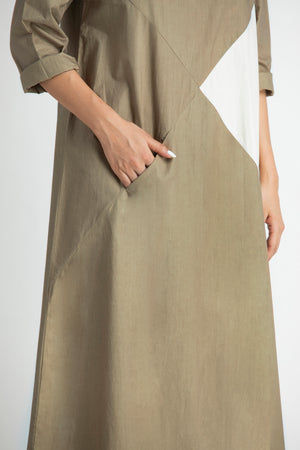 Triangle Dress- Sage