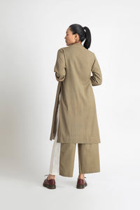 Side Knot Jacket- Sage