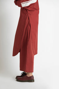 Long Jumper co-ord- Madder Red