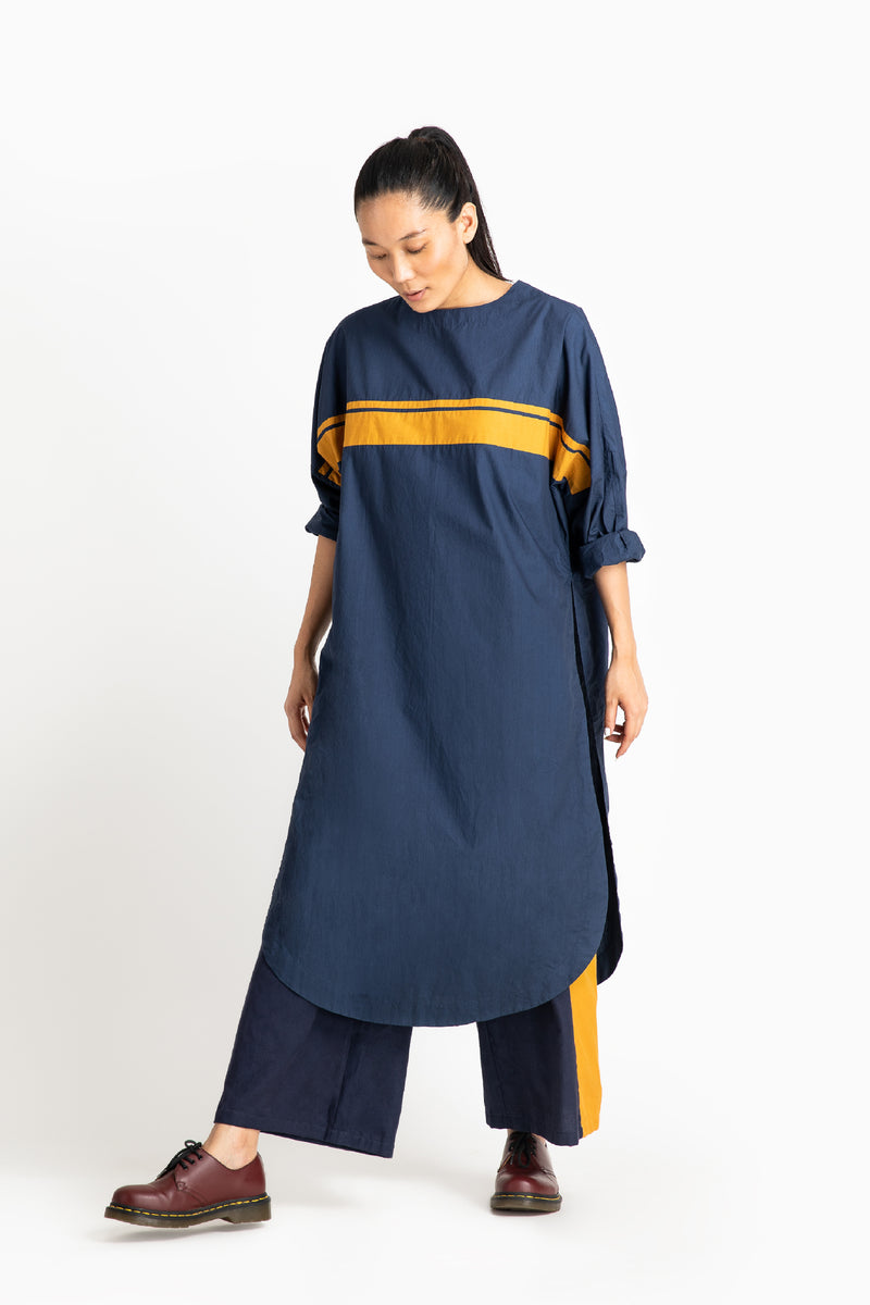 Long Jumper Co ord - Navy