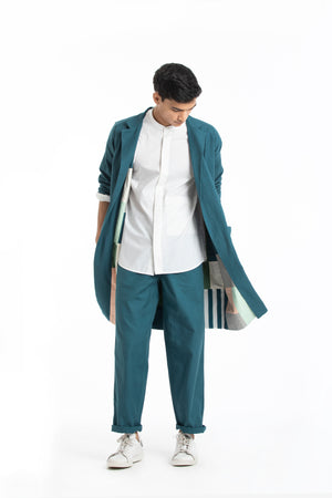 Limited Edition Reversible Jacket Co-ord- Teal