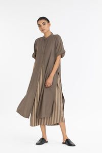 Dolman Sleeve Shirt co-ord-Terra