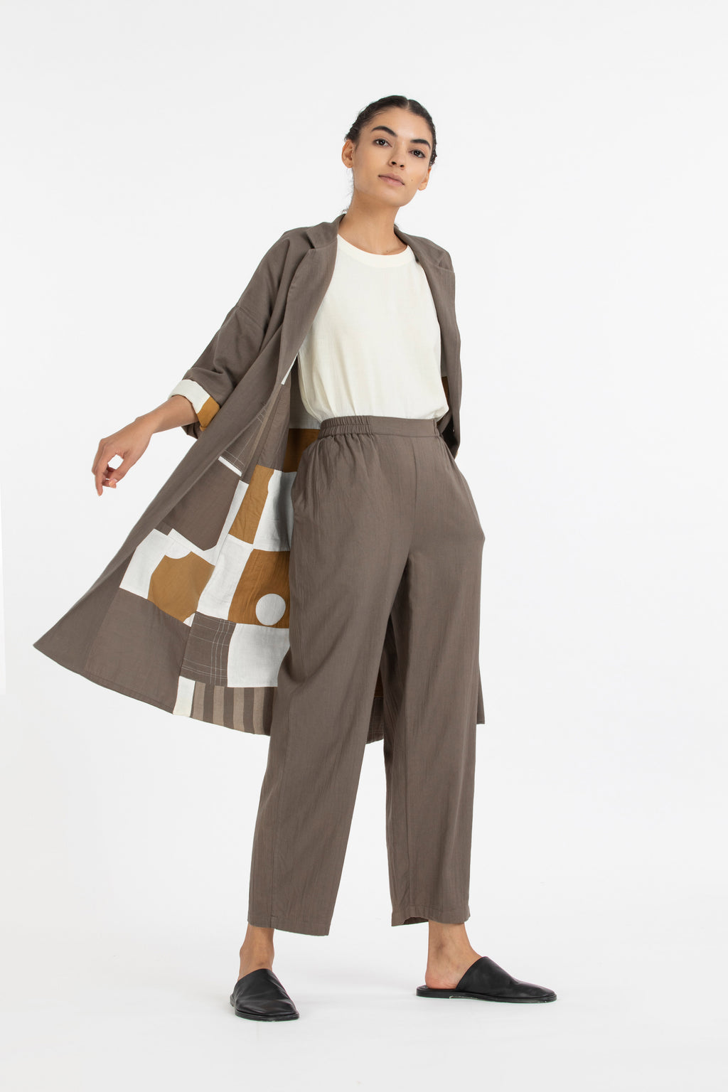Limited Edition Reversible Jacket Co-ord- Terra