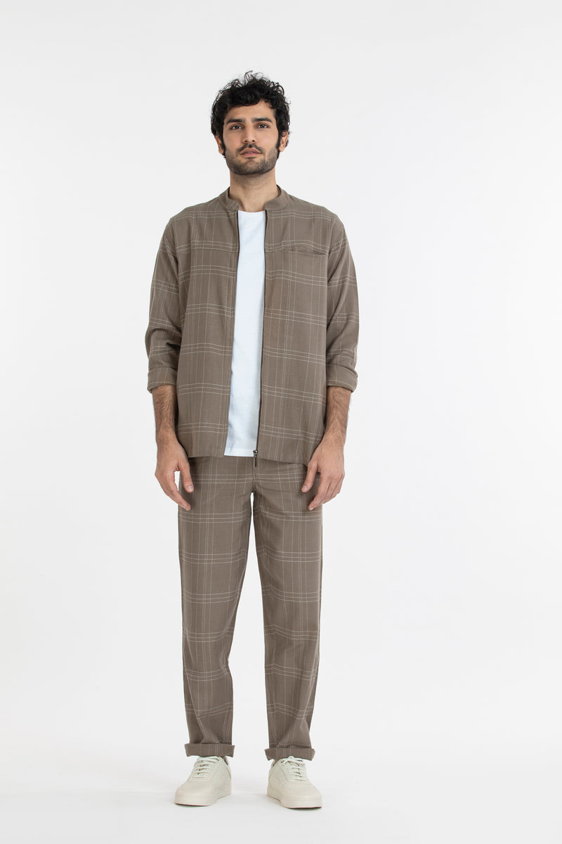 Shacket Co-ord- Terra Check