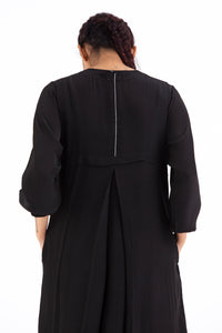 Back Yoke Jacket- Black