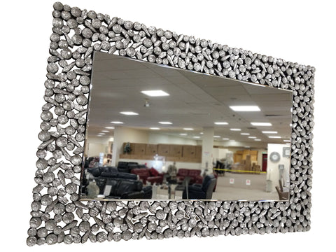 Moon Crystal Rectangular Wall Mirror - AM004