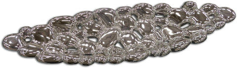 Large Silver Electroplated Bubble Dish - WLLBD