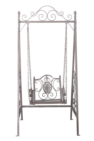 Wrought Iron Metal Swing Chair - FA001