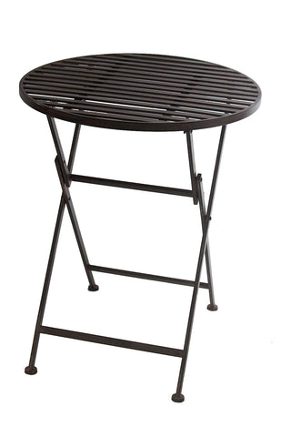 Wrought Iron Metal Folding Table - FA007