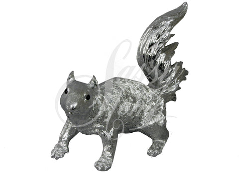 Silver Electroplated Squirrel Ornament - JG020