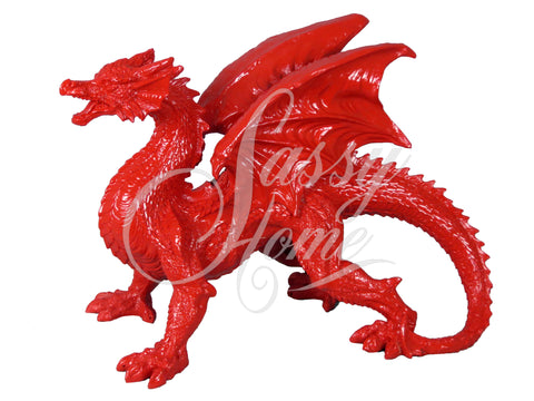 Red Dragon Ornament - JG025