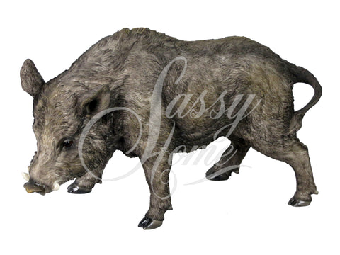 Wild Boar Ornament - JG027