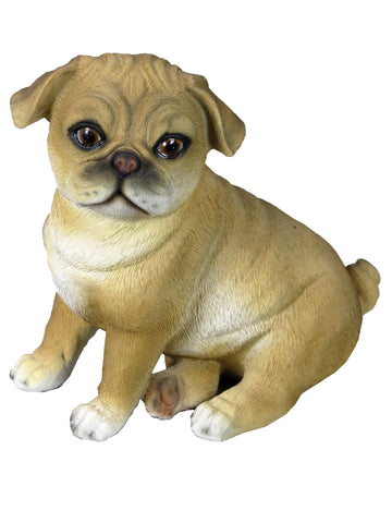 Bongo Pug Dog Ornament - Bon B/Pug
