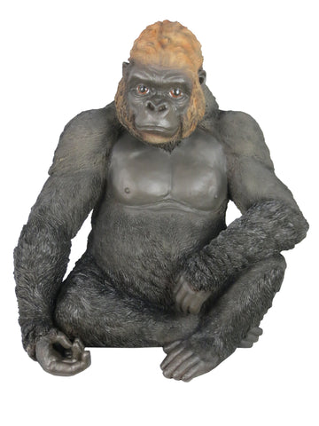Sitting Gorilla Ornament - QM030