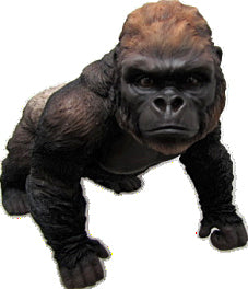 Large Walking Gorilla Ornament - QM033