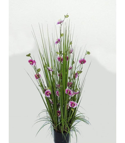 Purple Flower Artificial Plant - WL129GRPR98