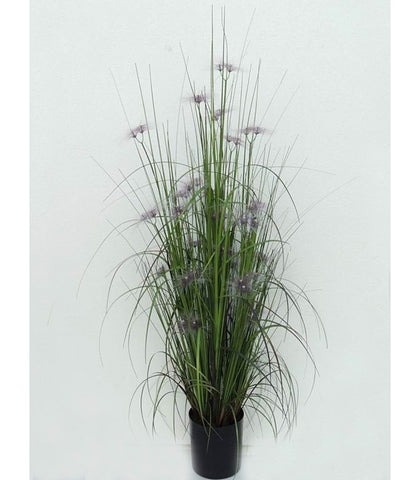 Purple Wisp Flower Artificial Plant - WL138GRPR90