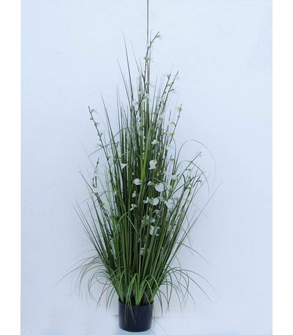 White Flower Artificial Plant - WL145GRWH126