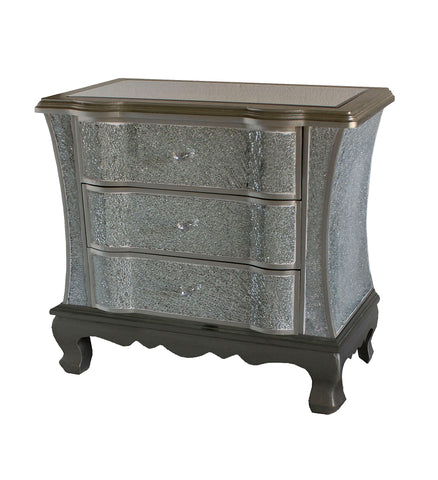 Crackle 3 Drawer Wide Chest of Drawers - WL14B042-A