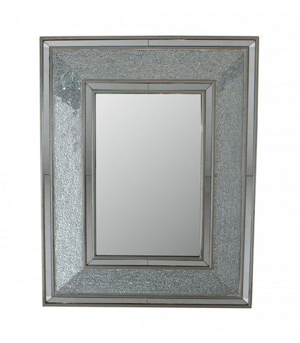 Crackle Square Rectangular Mirror - WL14B107