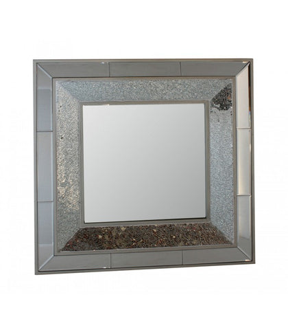 Crackle Square Wall Mirror - WL14B111