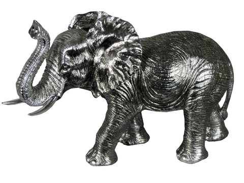 Silver Elephant Ornament - WL2600