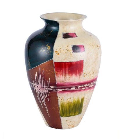 Colourama Multicolour Potted Vase - WLC156M