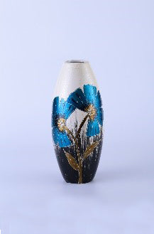 Colourama Blue Tall Vase - WLC53NB