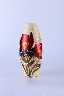 Colourama Red Tall Vase - WLC53NR