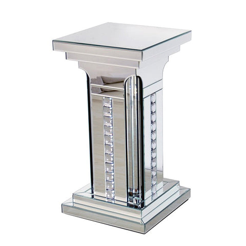 Medium Prism Crystal Mirrored Pillar - CD175