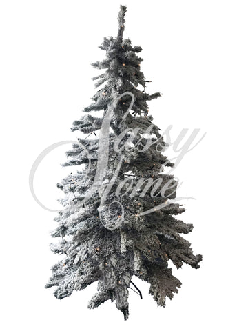 7ft Snow Effect Christmas Tree - YS001